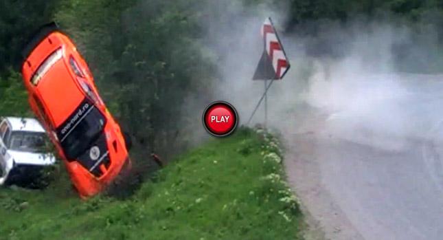 Video: Tai nạn nghiêm trọng tại Rally Romania