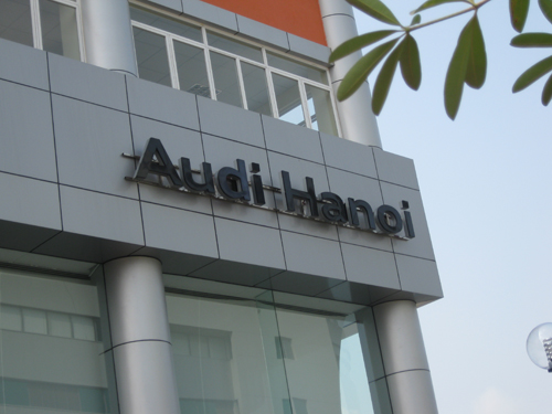 Audi khai trương showroom Hà Nội