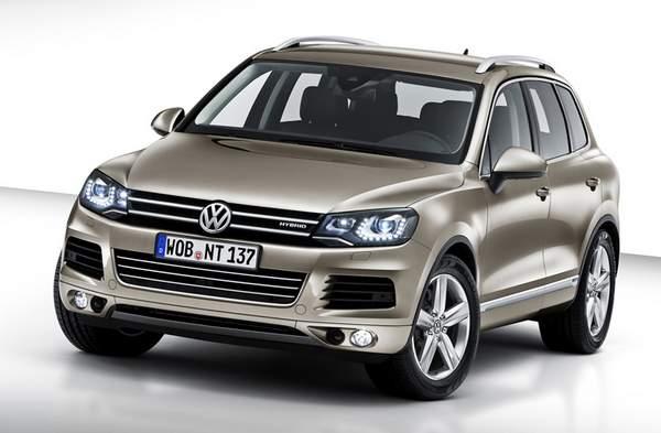 VW ra mắt mẫu Touareg 2011