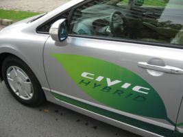 Test Drive Honda Civic Hybrid