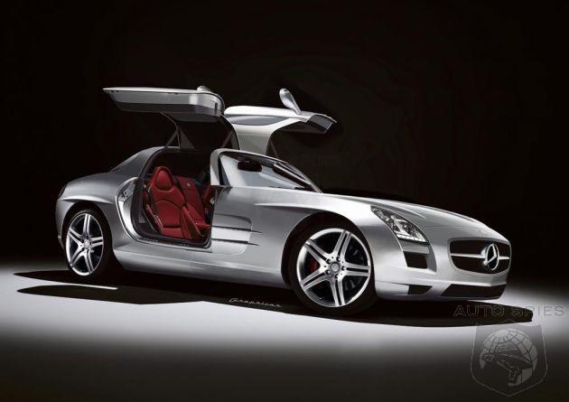 Mercedes sắp ra mắt SLS AMG tại Pháp