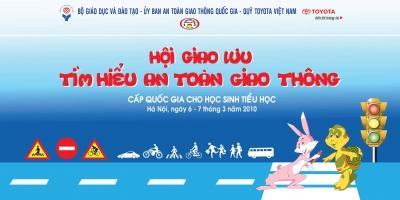 Toyota VN tổ chức  giao lưu tìm hiểu kiến thức ATGT