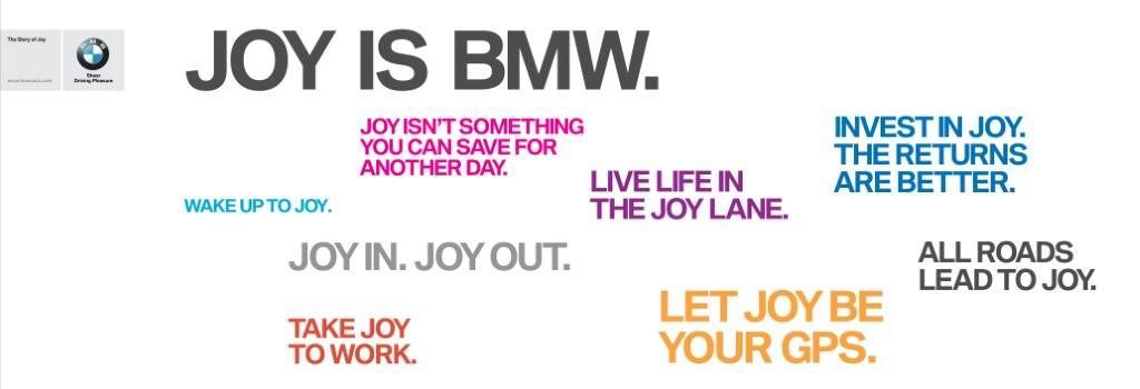 """Chiến dịch marketing toàn cầu mới của BMW: """"The Story of Joy"""""""