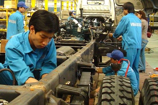 Sản xuất ôtô, xe máy quý 1/2010 tăng mạnh