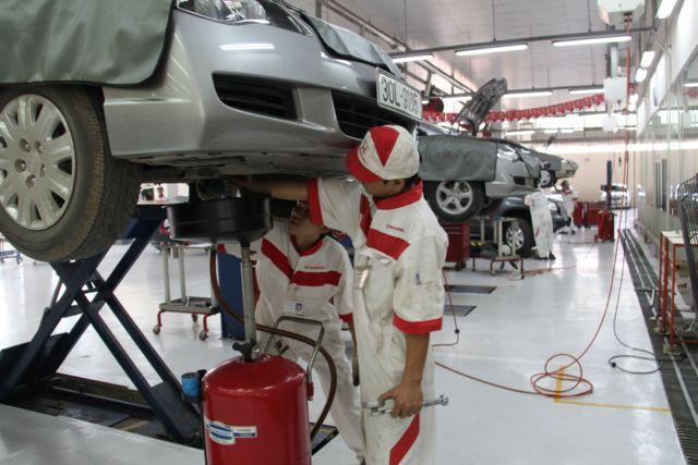Honda Việt Nam kiểm tra xe miễn phí