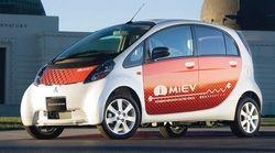 Mitsubishi hạ giá xe điện i-MiEV