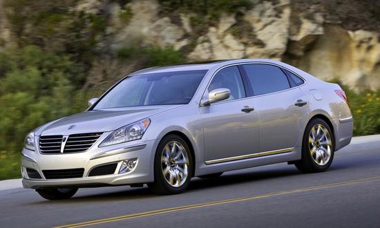 Hyundai Equus ra mắt khách hàng Mỹ