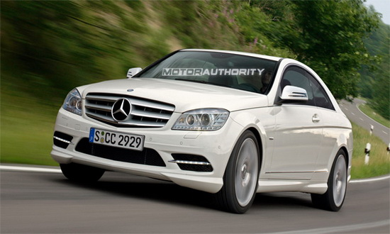 Mercedes-Benz sẽ sản xuất C-Class Coupe 2011