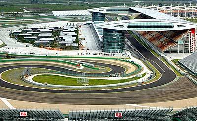 Đường đua và lịch thi đấu TQ Grand Prix
