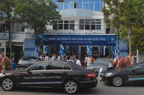 Mercedes-Benz mở rộng hệ thống phân phối