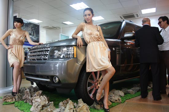 Land Rover có showroom đầu tiên tại miền Bắc