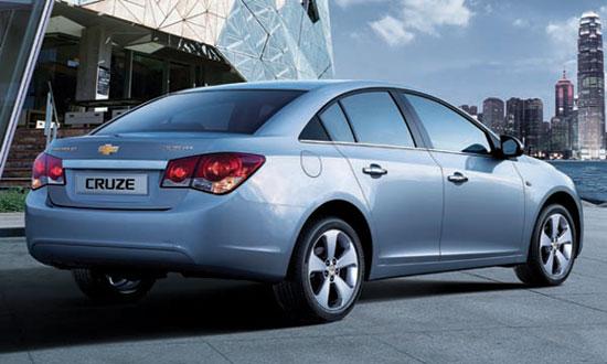 Chevrolet Cruze chính thức ra mắt tại Việt Nam
