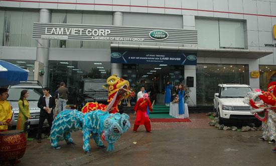Land Rover khai trương ShowRoom tại miền Bắc