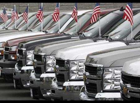 Thị trường xe hơi Mỹ khởi sắc trong tháng 4