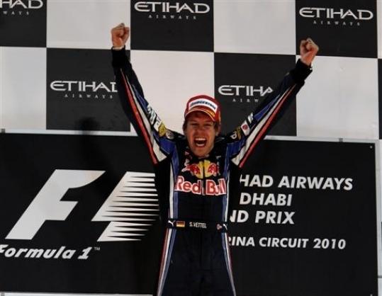 Vettel giành chức vô địch F1 2010