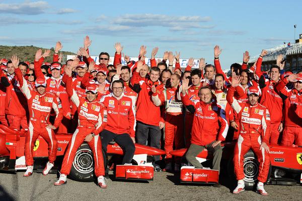 Tổng hợp cuộc đua Ferrari Finale Mondiali 2010