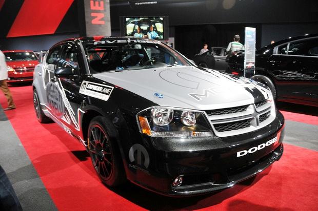 Dodge sẽ tham gia trường đua với chiếc Avenger