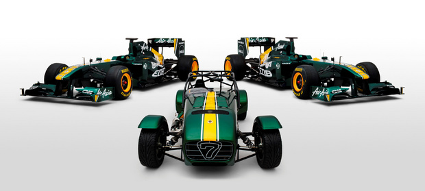 Đội đua Lotus mua lại Caterham