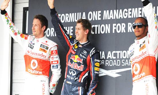 Sebastian Vettel giành Pole tại Hungary GP