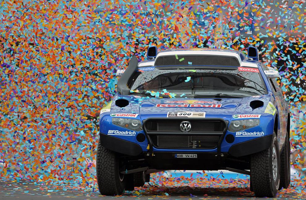 Dakar Rally 2012 sắp sửa khai màn