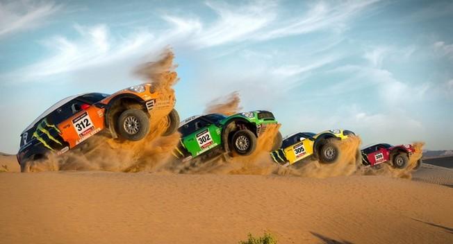 Mini All 4 Racing thắng lớn tại Dakar Rally 2012