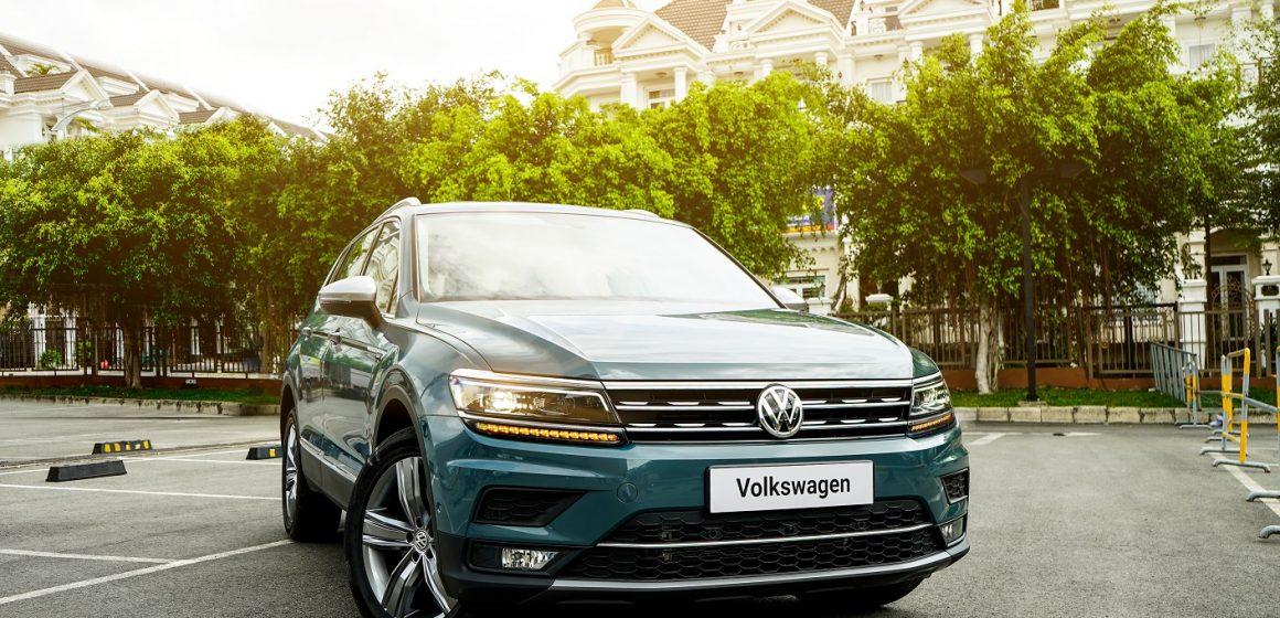 Volkswagen giới thiệu Tiguan Allspace LUXURY có giá 1,849 tỷ đồng