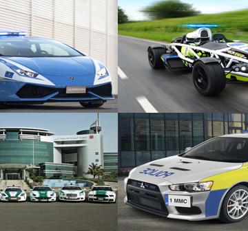 Cảnh sát trên thế giới dùng xe gì để khắc chế các quái xế ?