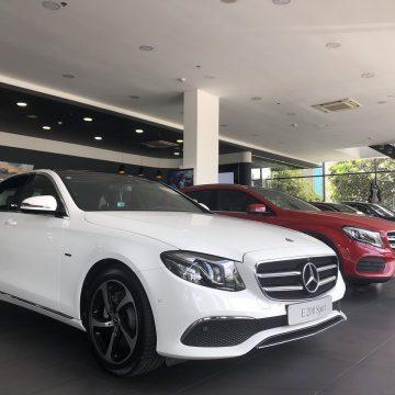 Mercedes-Benz E-Class thế hệ mới đang có mặt tại Mercedes-Benz Haxaco Võ Văn Kiệt. Sẵn sàng trao đến tay khách hàng