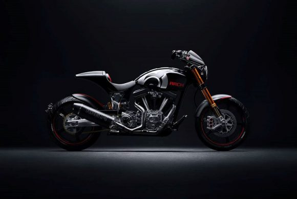 """Chi tiết moto KRGT-1 được chế tạo bởi Arch Motorcycle: Ngầu như """"John Wick"""""""
