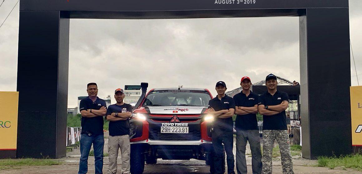 Racing AKA tham gia giải đua xe địa hình Asian Cross Country Rally 2019.