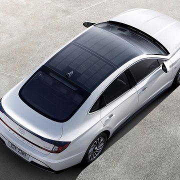 Hyundai dùng nóc xe để sạc pin từ năng lượng mặt trời