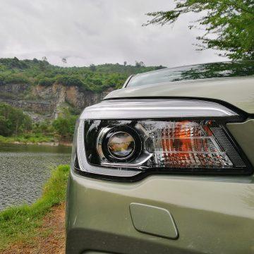 """Thưởng ngoạn núi rừng Tây Ninh cùng Subaru Forester. Trời xanh, rừng xanh và """"Em"""" cũng xanh."""