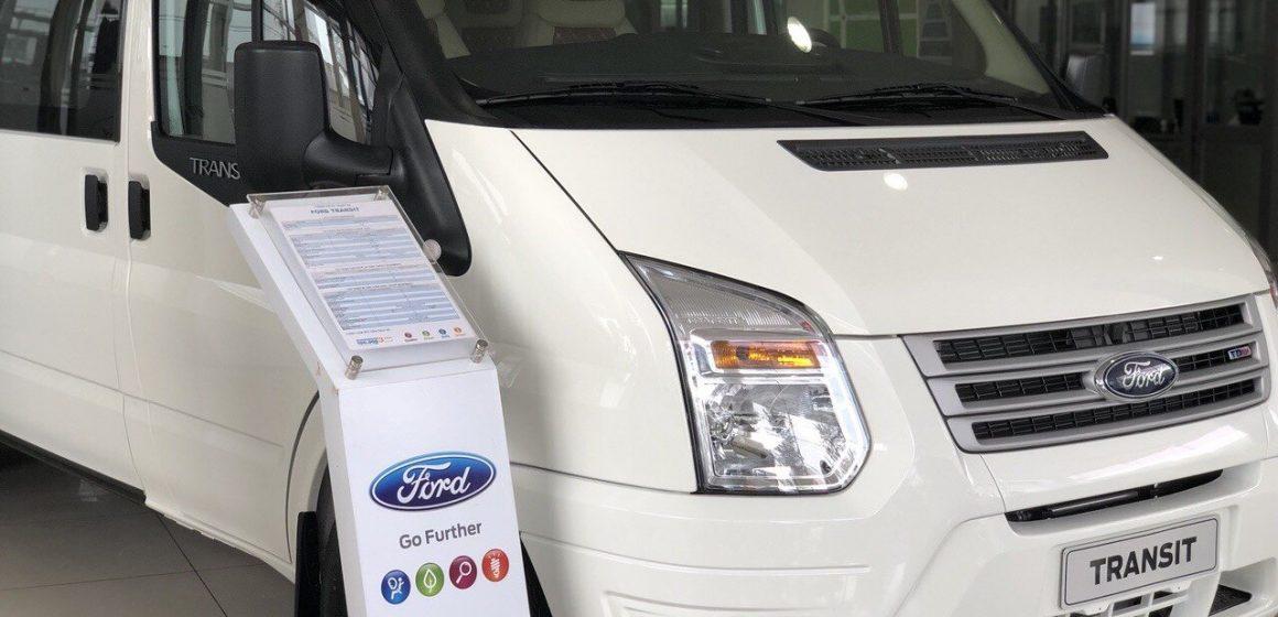 Ford Transit – Dẫn lối thành công cho doanh nghiệp, giải pháp vận chuyện hành khách tối ưu.