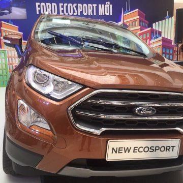 Chướng ngại trên đường phố ư? Quá dễ dàng với Ford EcoSport. Let's go…!!!