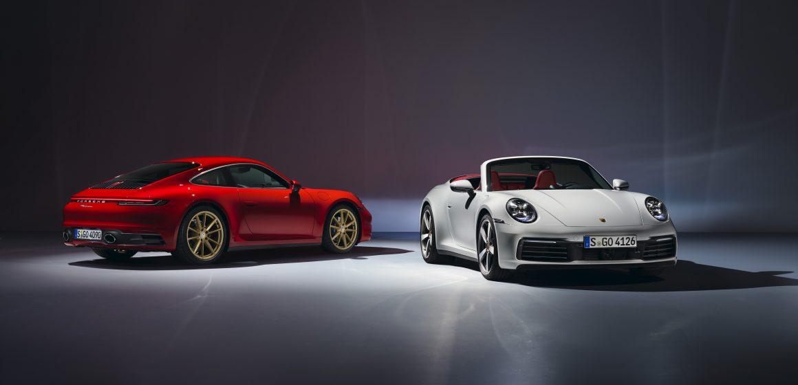 Porsche giới thiệu 911 Carrera Coupé và 911 Carrera Cabriolet mới.