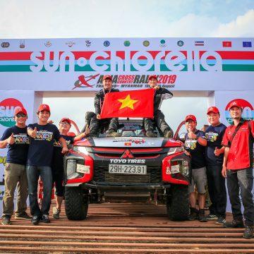 RACING AKA đạt thành tích ấn tượng trong giải đua xe địa hình ASIAN CROSS COUNTRY RALLY 2019.