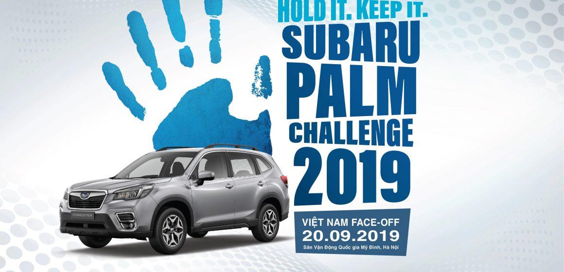 Subaru Palm Challenge & Ultimate Test Drive lần đầu đến với Hà Nội.