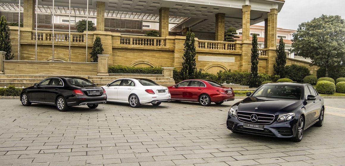 Mercedes-Benz E300 AMG – Biểu tượng thể thao mới của phân khúc.