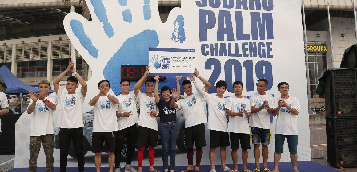 Subaru Palm Challenge 2019 đã tìm ra 10 thí sinh có tinh thần thép và sức khỏe dẻo dai.