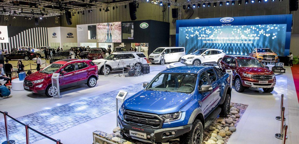 Ford trưng bày phổ sản phẩm phong phú các dòng xe SUV và thương mại tại VMS 2019