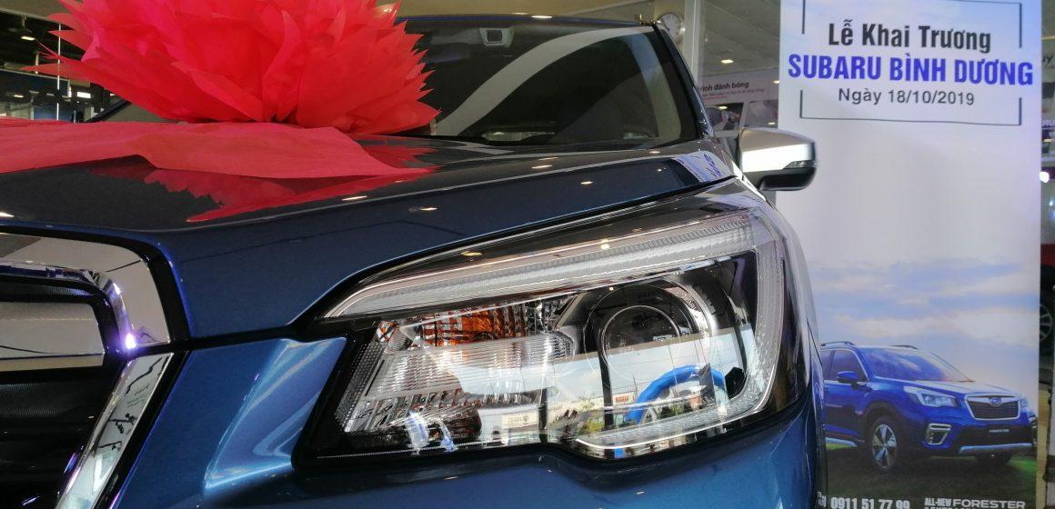 Subaru Việt Nam đồng loạt khai trương 3 đại lý ủy quyền mới trong tháng 10