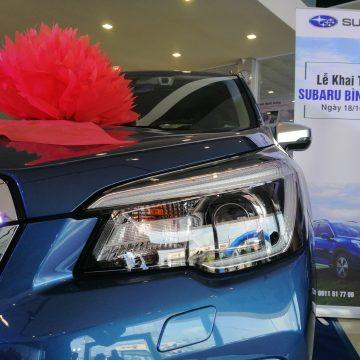 Subaru Việt Nam đồng loạt khai trương 3 đại lý ủy quyền mới trong tháng 10.