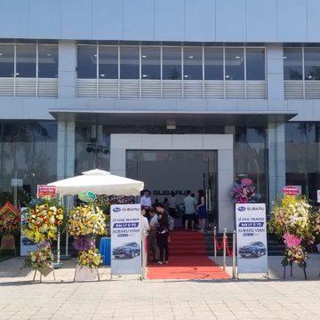 Subaru Việt Nam khai trương đại lý chuẩn 3S tại Vinh.