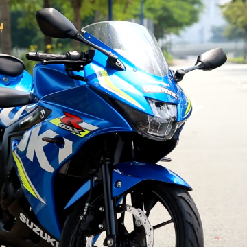 Đánh giá chi tiết mô tô Sport City: Suzuki GSX 150R.