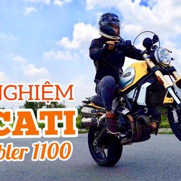"""Đánh giá """"chiến mã nước Ý"""" – Ducati Scrambler 1100."""