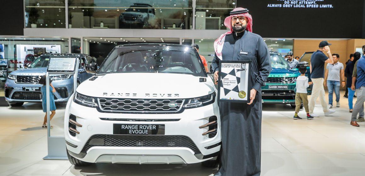 Range Rover Evoque dành giải thưởng mẫu SUV/Crossover của năm