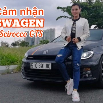Volkswagen Scirocco GTS – hatchback thể thao đầy mạnh mẽ.