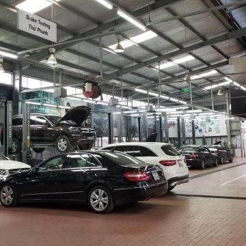 Mercedes-Benz triển khai chương trình khuyến mãi dành cho khách hàng bảo dưỡng xe từ ngày 18/11 đến hết ngày 14/12/2019.