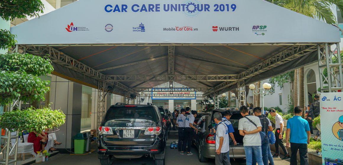 Car Care UniTour 2019 – Lần đầu tiên tổ chức thi chăm sóc xe tại Việt Nam.