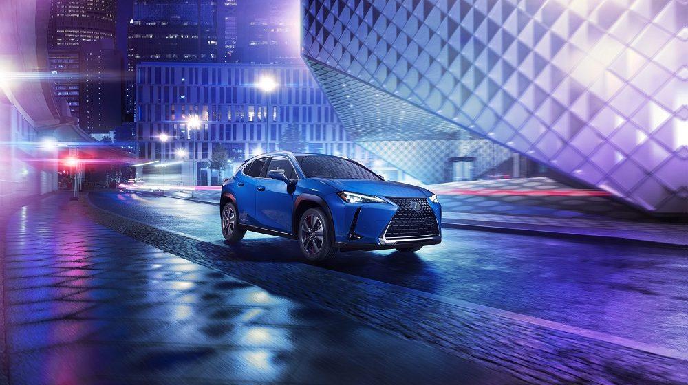 Ra mắt toàn cầu xe điện Lexus đầu tiên UX300e